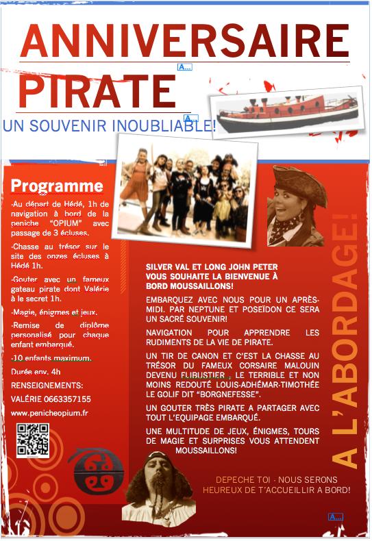 Affiche anniv pirate page 1
